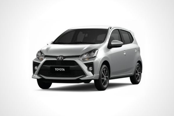A Toyota Wigo that is not the TRD variant