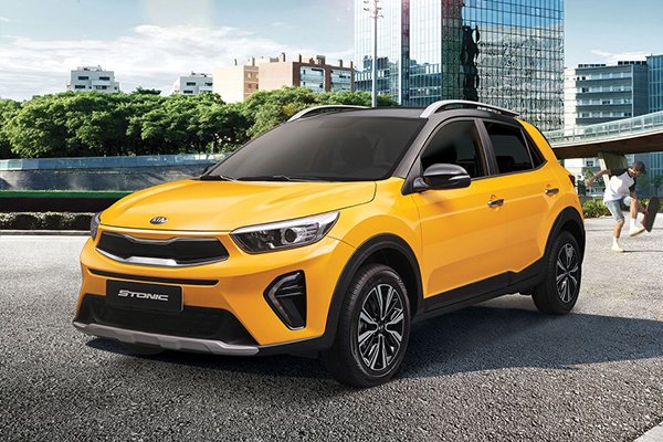 A picture of the Kia Stonic.