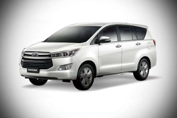 A picture of the 2020 Toyota Innova.