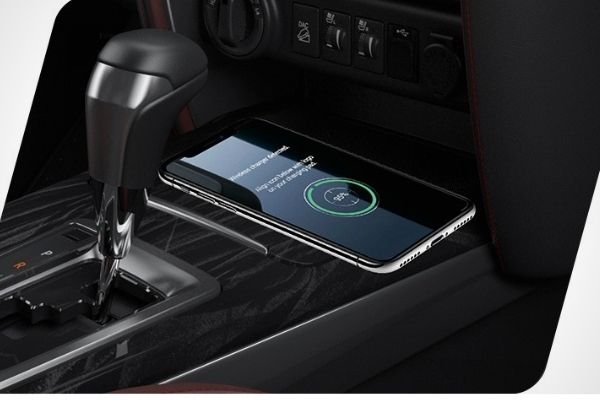 The wireless feature on the new Fortuner
