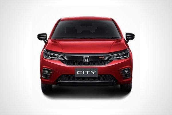 New 2021 Honda City front