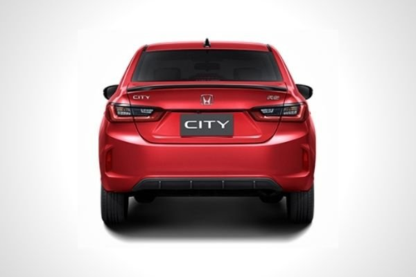 New 2021 Honda City rear
