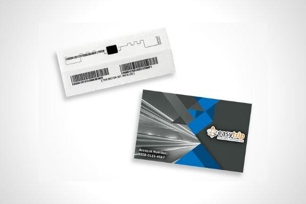 Easytrip RFID card and sticker