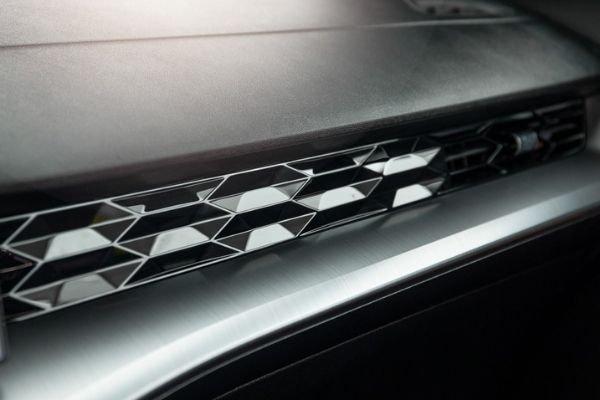 2021 MG 5 interior view