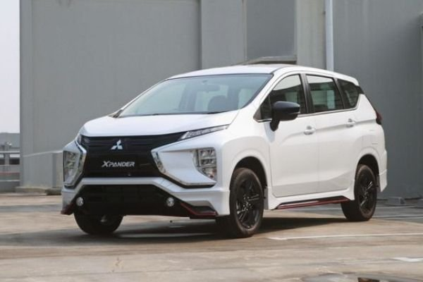 The Mitsubishi Xpander Black Edition in Quartz White Pearl