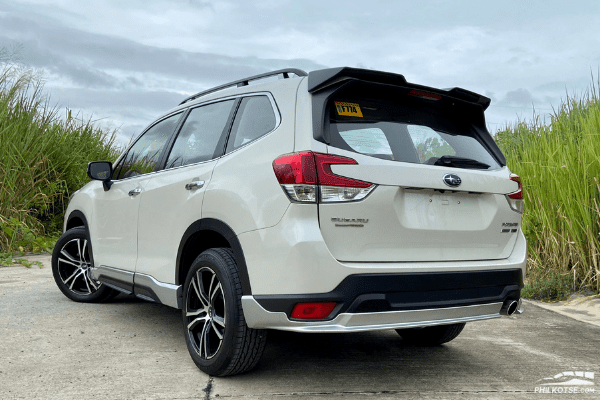 2020 Subaru Forester GT Edition rear