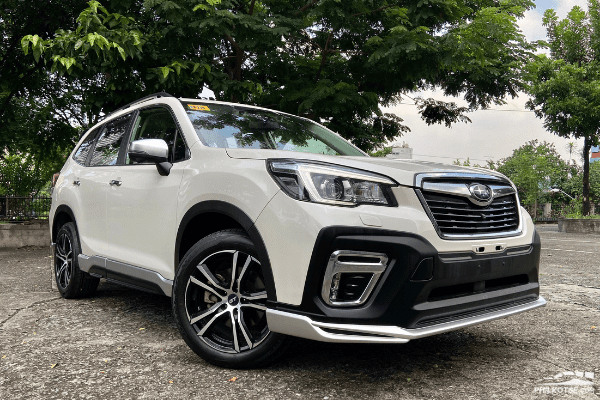 2020 Subaru Forester GT Edition front profile shot