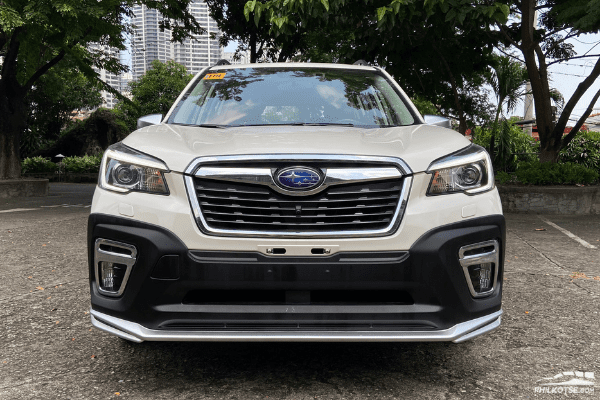 2020 Subaru Forester GT Edition full front shot