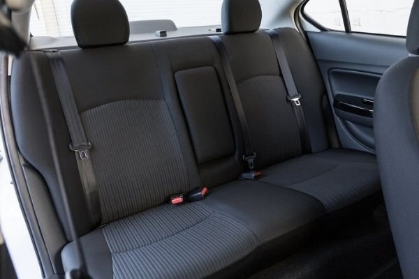 Mirage rear seats