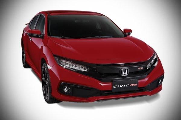 2020 Honda Civic front profile shot