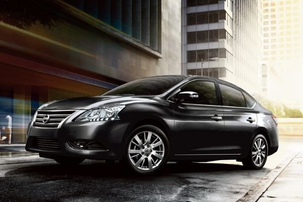 2020 Nissan Sylphy front shot