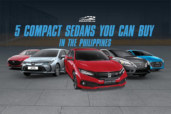 Compact Sedans you can buy in the Philippines