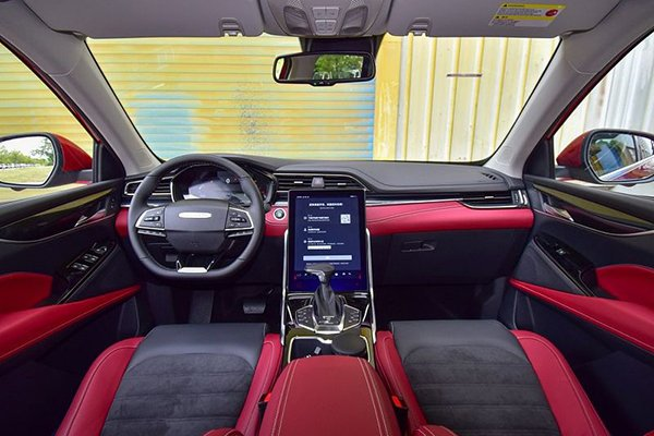 A picture of the interior of the Maxus D60