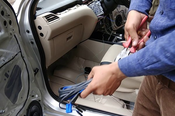 how to install car alarm with central locking