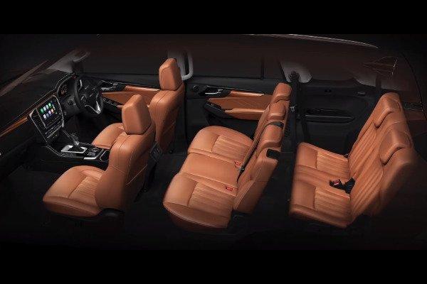 New mu-X interior wide