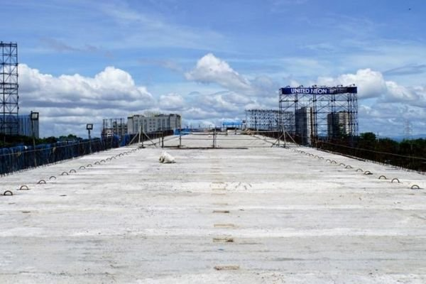 Construction of NB Skyway Extension