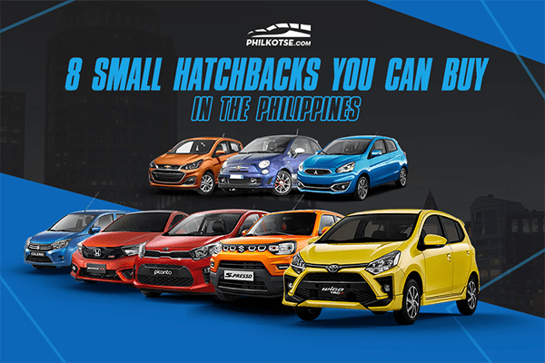 Small hatchbacks you can buy in the Philippines