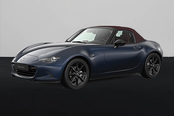 2021 Mazda MX-5 front shot