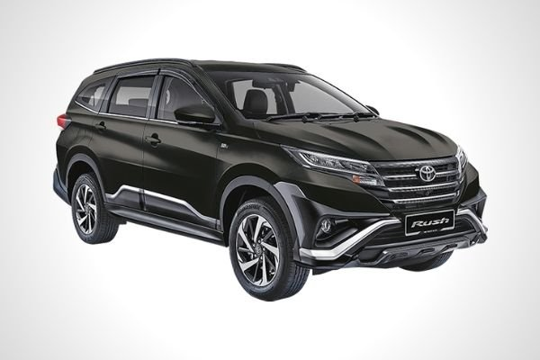 2021 Toyota  Rush front view