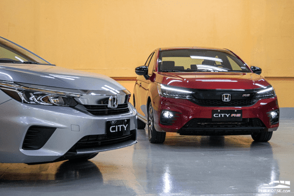 2021 Honda City RS front shot