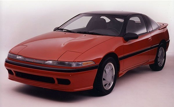 A picture of the 1st-gen Mitsubishi Eclipse