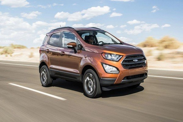 If you are not a big fan of a chromed grille, the Ecosport Trend would be a great option.