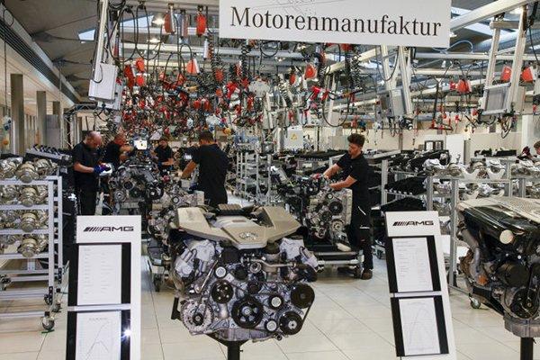 Inside AMG's V12 assembly line in Mannheim
