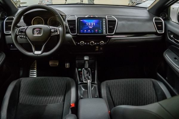 A picture of the interior of the 2021 Honda City