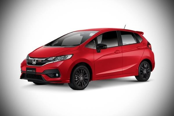 A Picture of the 3rd-gen Honda Jazz.