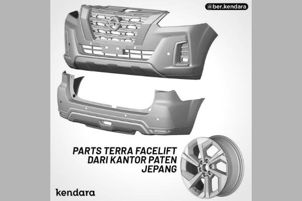 2021 Nissan Terra leaked patent image