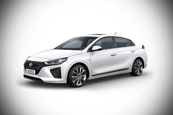 A picture of the Hyundai Ioniq Hybrid