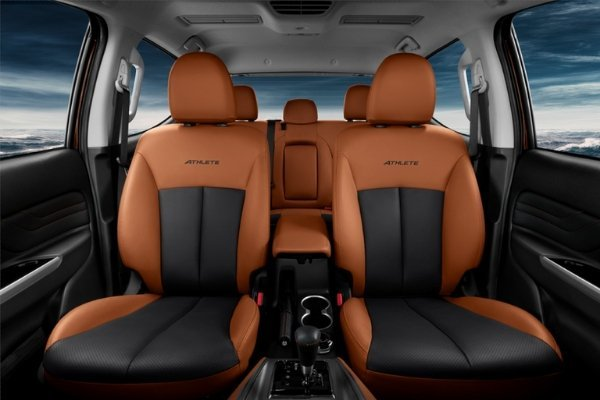 A picture of the Strada Athlete's seats