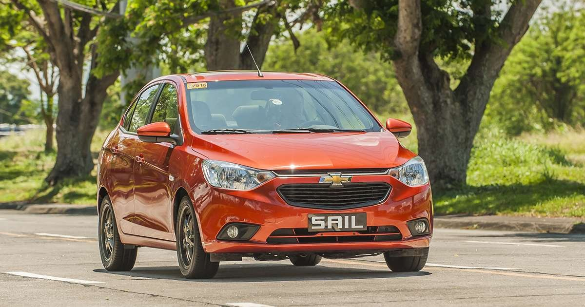 The Chevrolet Sail 2019 has no problem driving in the urban area at an average speed of 30kph