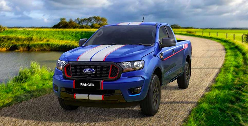 2021 Ford Ranger XL Street Thai-spec