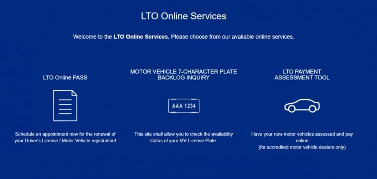 A picture of the LTMS services
