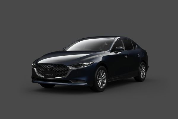 2021 Mazda3 front view