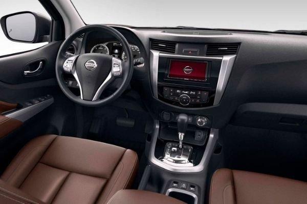 2020 Nissan Terra interior view