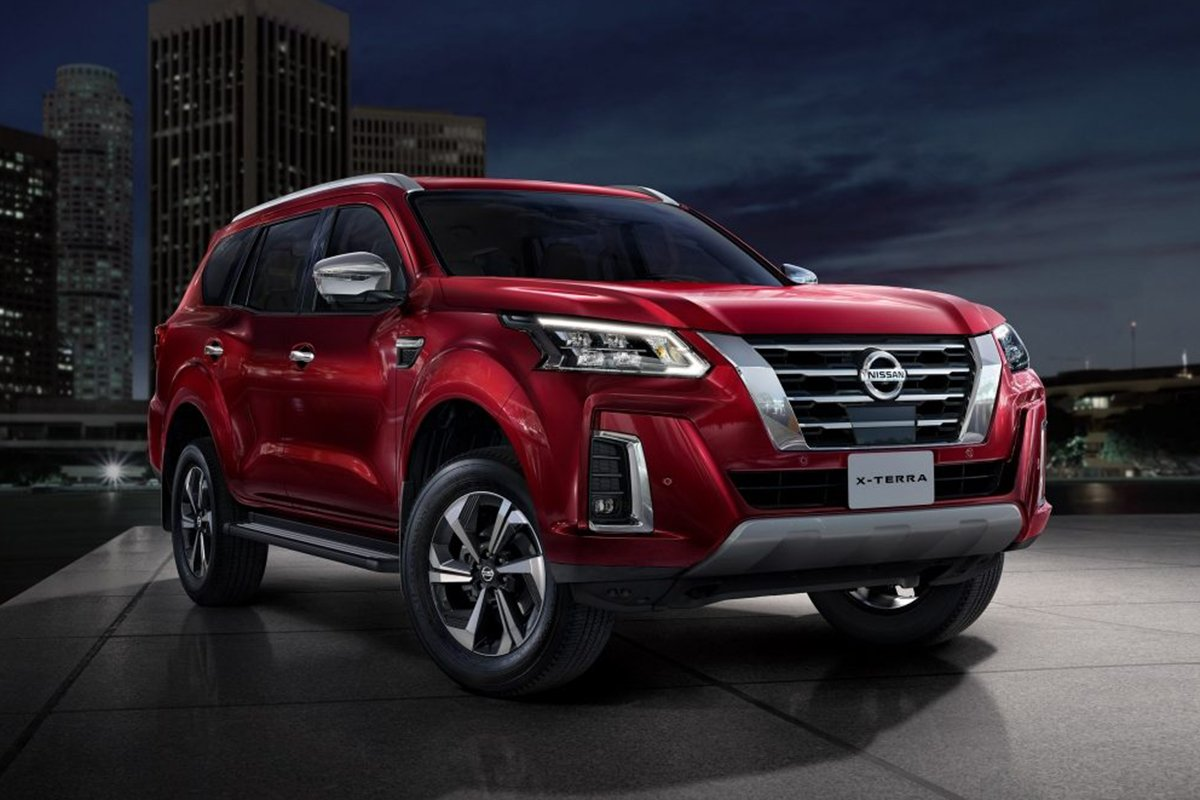 A picture of the new Nissan Terra