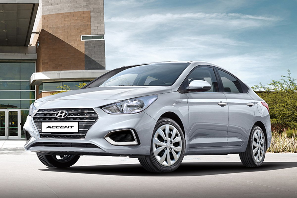 A picture of the Hyundai Accent