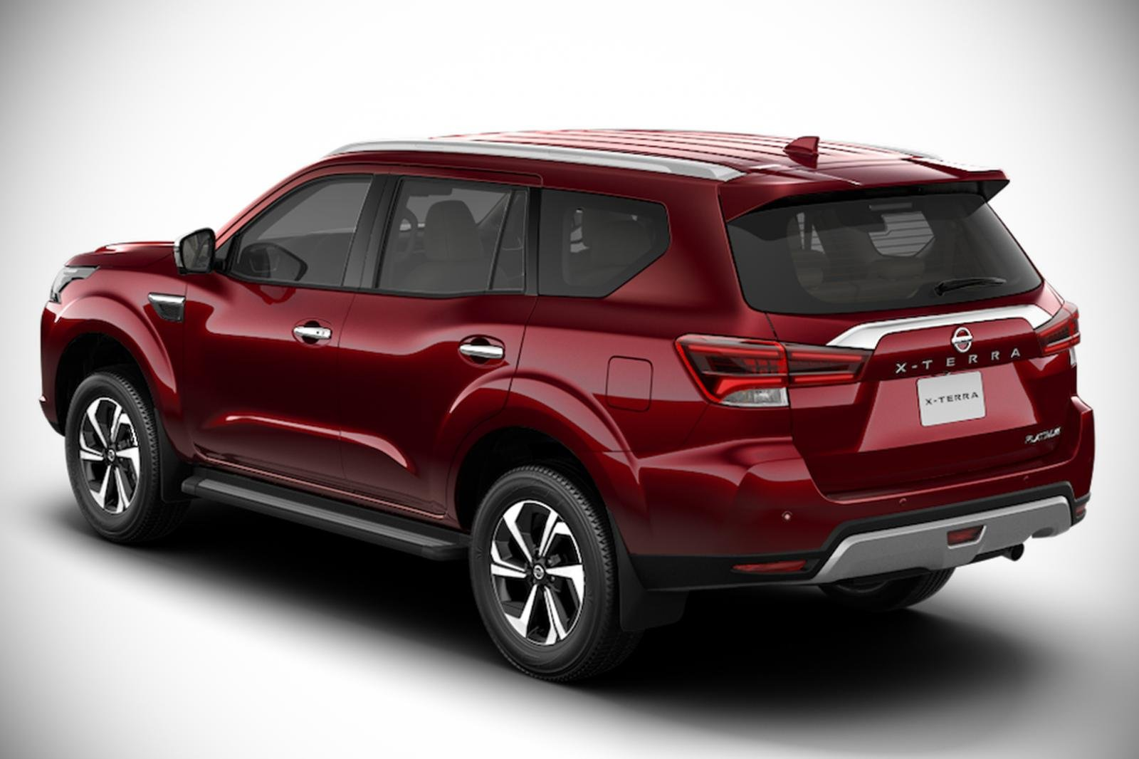 A Picture of the rear of the facelifted Terra