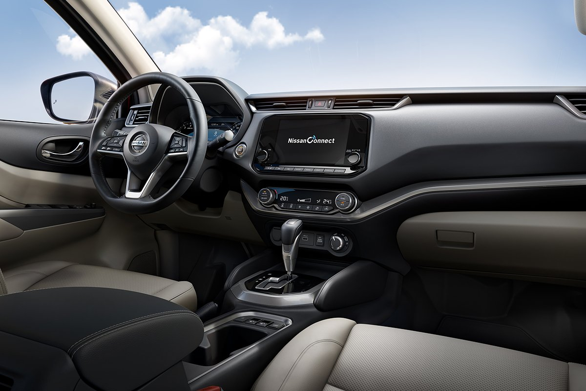 A picture of the interior of the facelifted Terra