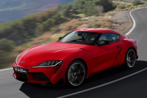 Toyota Supra front view