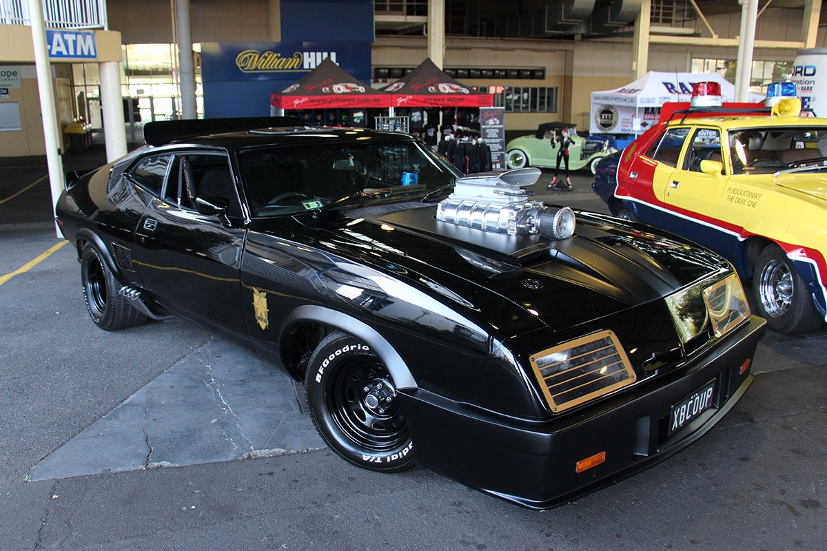 A picture of the Mad Max car