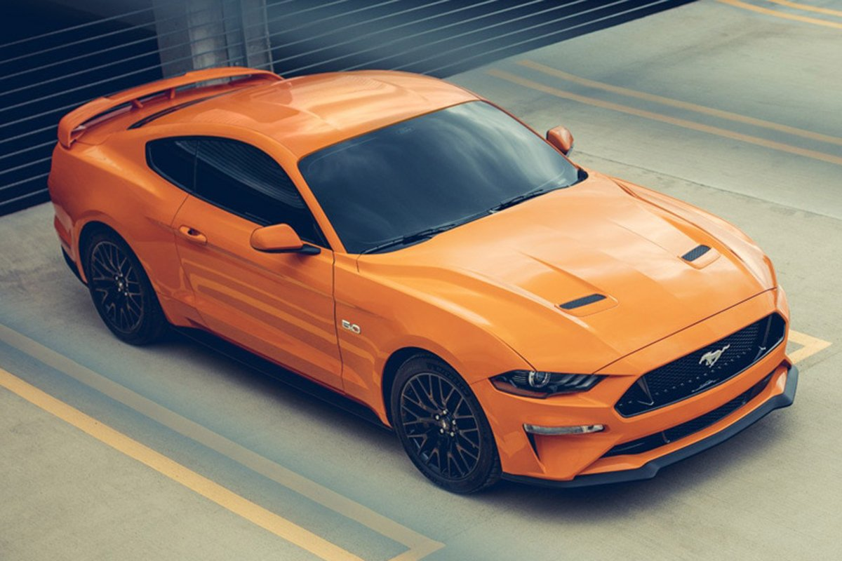 A picture of the Ford Mustang available in the Philippines right now