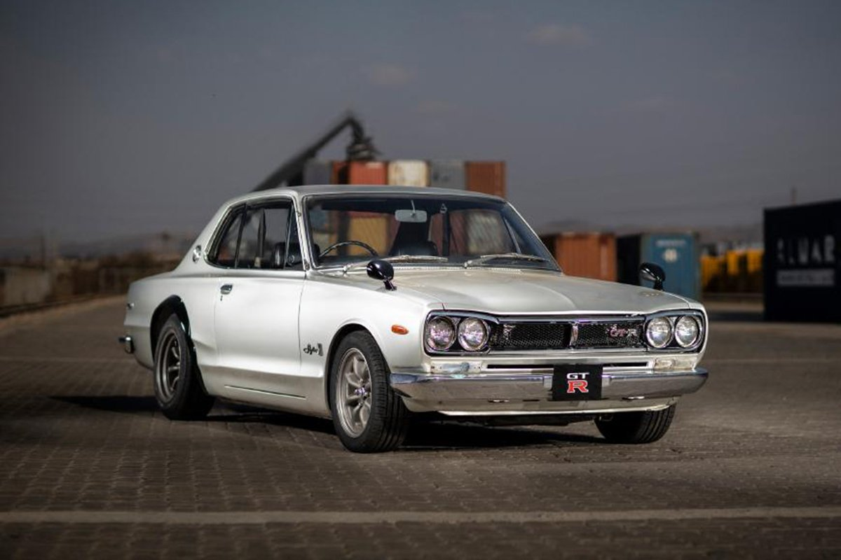 A Picture of the Nissan Skyline 2000 GT-R