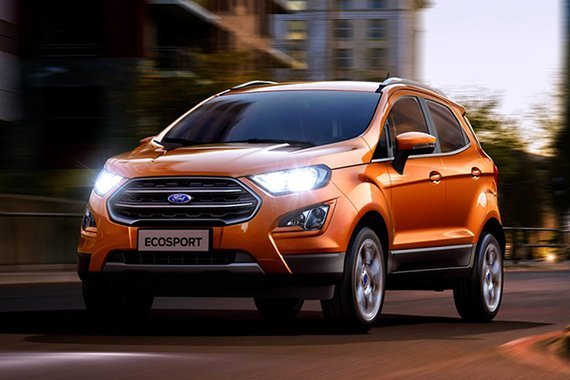 2020 Ford EcoSport front view