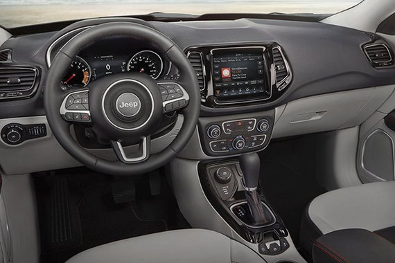 Jeep Compass interior view