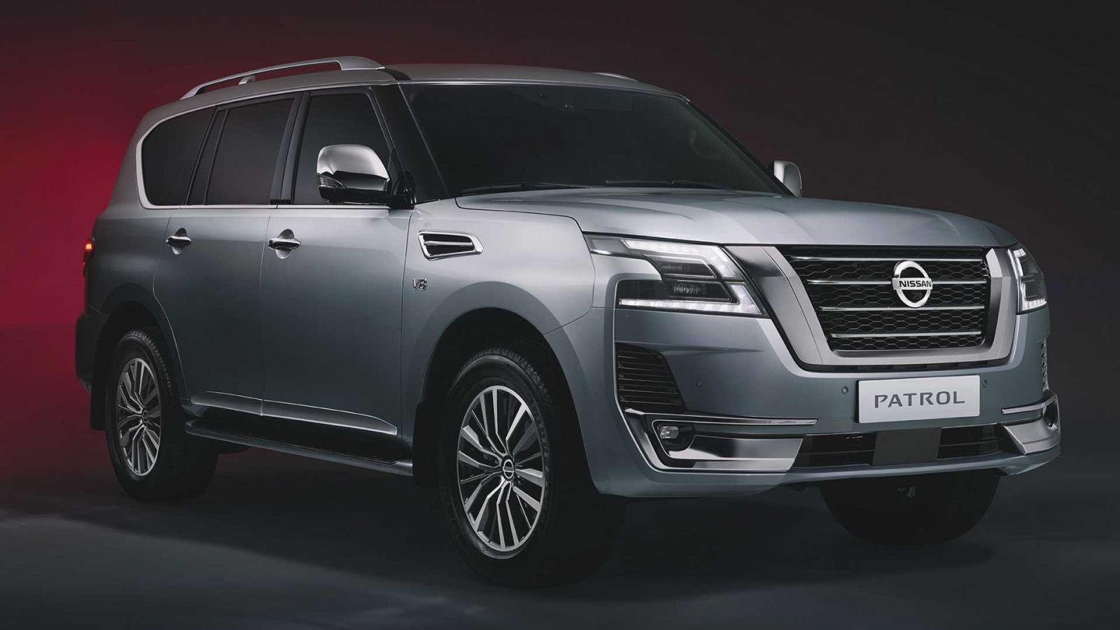 2021 Nissan Patrol front view