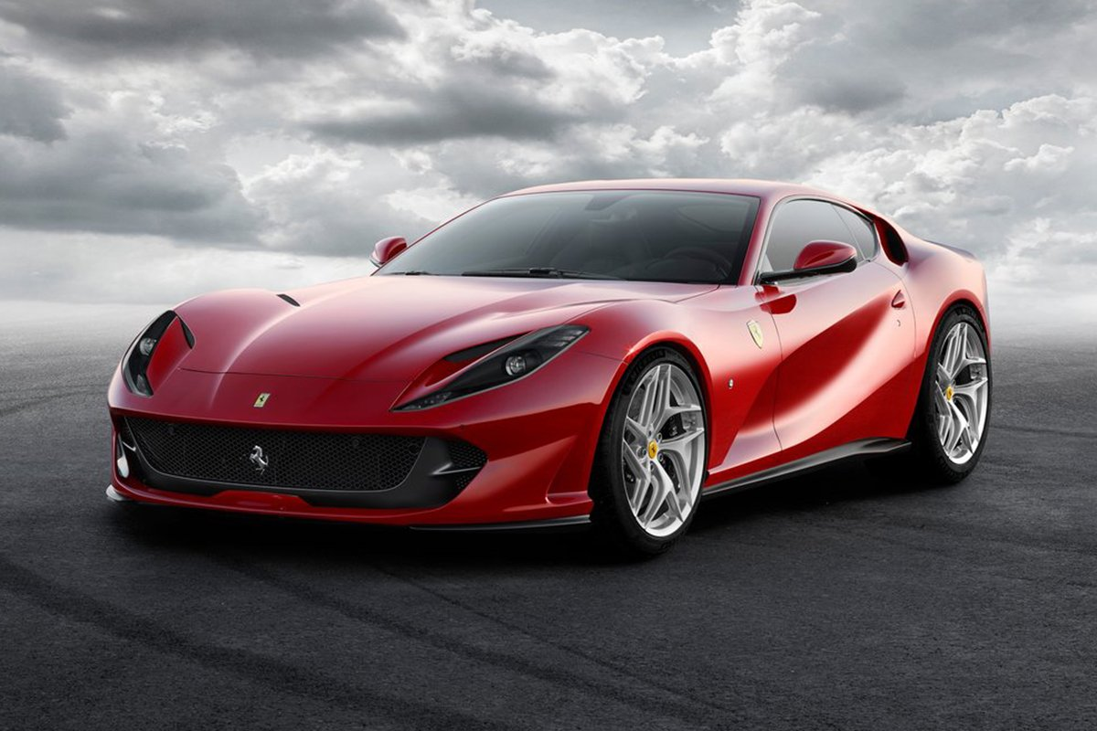 A picture of the Ferrari 812 Superfast