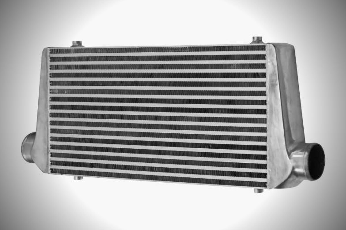 A picture of an intercooler